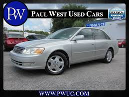 Used 2003 Toyota Avalon XLS Gainesville FL -- Paul West Used Cars