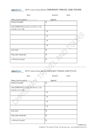 Petty Cash Voucher Template Petty Cash Voucher Allyourforms 22