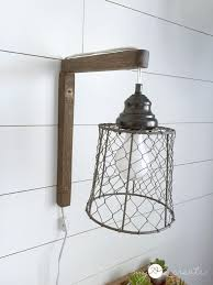 pendant lighting plug in. DIY Plug-in Sconces, From Pendant Lights, Tutorial At MyLove2Create Lighting Plug In R