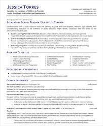 Substitute Teacher Resume Inspiration 215 Resume Substitute Teacher Blackdgfitnessco