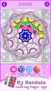 This app also features multiple. My Mandala Coloring Pages App For Android Apk Download
