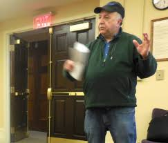 patrick hollenbeck at a great barrington libraries board of trustees meeting earlier in 2018 photo terry cowgill