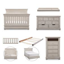 simmons nursery furniture. Simmons Kids Tivoli 6 Piece Baby Furniture Set - Antique White Nursery 7