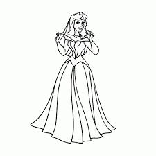 Disney Prinsessen Kleurplaat