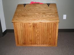 oak beadboard firewood box