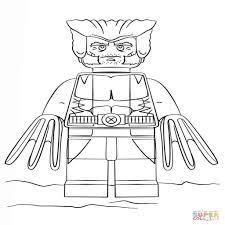 Disegno Di Lego Wolverine Da Colorare Disegni Da Colorare E In Con