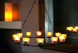 home improvement pillar candle round chandelier chandeliers depot tea light 5 ikea outdoor winsome covers