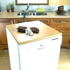 how to install a granite countertop without plywood installing dishwasher with e z bracket yourself installi
