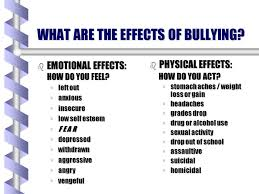 effects of bullying in school thesis effects of bullying in school thesis