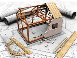 Building Plan Stock Photos  Pictures  Royalty Free Building Plan    building plan  House project   model  pencil and rules Stock Photo