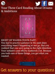 tarot card reading daily horoscope free tarot cards love tarot readings screenshot