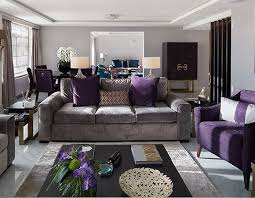 Small Picture Breathtaking Purple And Grey Living Room Fresh Ideas Ideas