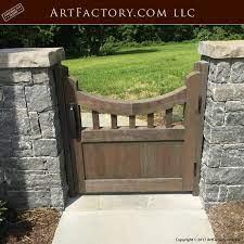 fine art garden gate craftsman wooden