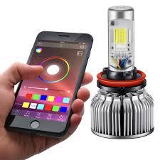 smartphone controlled lighting. Lumen® - App Controlled RGB LED Conversion Kit (880) Smartphone Lighting