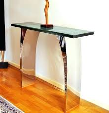 modern narrow console table medium size