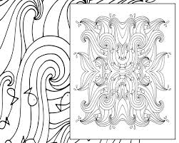 Ocean Wave Adult Coloring Page Beach Adult Coloring Sheet Etsy
