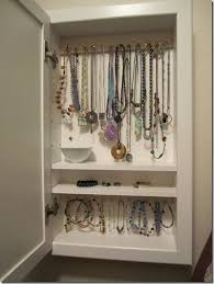 Turn A Medicine Cabinet Into Wallmounted Jewelry Box It Only Takes  Few Minutes And Used Cabinets Are Inexpensive Easy To Find Wall Mounted E36