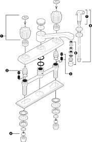 Repair Moen Kitchen Faucet Incredible Cool Moen Single Handle Kitchen Faucet Repair V55 Bjly