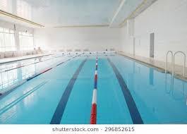 empty public swimming pool