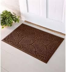 front door matOversized Fern Waterhog Doormat 33 x 57  Doormats