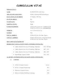 Resume For Teachers Impressive School Teacher Cv Format Doc Resume For Teachers In Primary Examples