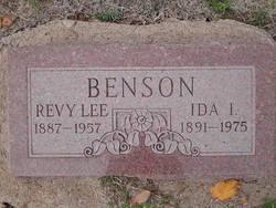 Ida Isobel Reno Benson (1891-1975) - Find A Grave Memorial