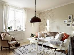living room wall decor ideas linoleum flooring tiled beautiful rooms furniture walnut wall shelves white sofa