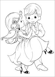 Free Wedding Coloring Pages To Print At Getdrawingscom Free For