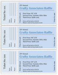 Raffle Ticket Template Publisher Free Raffle Ticket Template For Publisher Microsoft Office Raffle