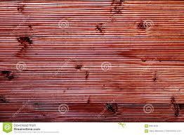 Van De Kleuren Houten Omheining Bruin Behang Als Achtergrond Stock