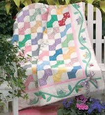 Super Easy Quilt Patterns Free Simple Friday Free Quilt Patterns Buds 'n Bow Ties McCall's Quilting