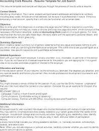 Accounts Clerk Resume Accounting Clerk Resume Sample Accounting Clerk Resume Inspirational