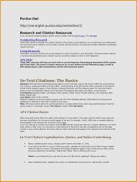Resume Cover Letter Examples Purdue Owl Beautiful Photos 30 Apa