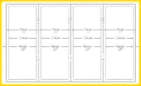 Quad Fold Brochure Template Word Legal Size Fold Brochure Template Poster Paper Of Dimensions