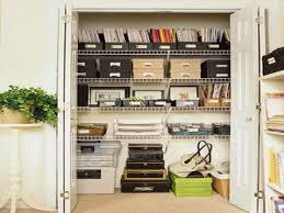 home office in a closet. Home Office Closet Ideas In A