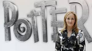 was the year of jk rowling and she didn t even write a new british author jk rowling creator of the harry potter series of books poses during