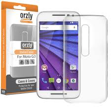 motorola g3. orzly invisi crystal hard case for motorola moto g (3rd gen) - clear g3