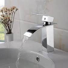 buy bathroom sinks chateautourduroc elite modern bathroom sink waterfall faucet chrome finish c incredible