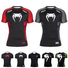 Venum Mens T Shirt Carioca 3 Brazil Fight Team Muay Thai Bjj