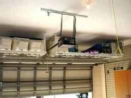 tool hanging rack garage medium size of storage organizer adjule shelving ceiling suspended shelves diy