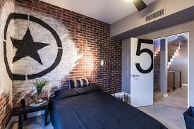 View In Gallery Be A Rebel With Some Bedroom Graffiti [Design: CityLoft]