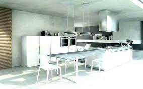 Ilot Central Cuisine Avec Table Table Design Central Cuisine Design