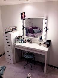 white makeup vanity with lights. medium size of bedroom:antique white makeup vanity set with lights and drawers on cozy l