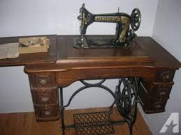 Old Damascus Treadle Sewing Machine - $250 (Chehalis)