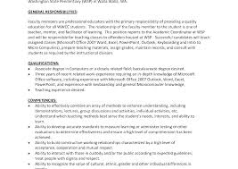 Sample Resume For Adjunct Professor Position Enchanting Pdf Sample Resume Cover Letter Sample For Resume Adjunct Professor