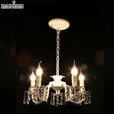 girls room modern pendant chandelier white iron crystal chandelier modern lighting fixture for
