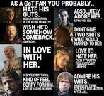 Game of thrones summary