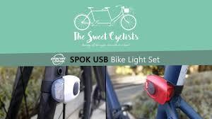 Planet Bike SPOK <b>USB Bike Headlight</b> / <b>Taillight</b> Set Review - feat ...