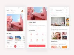 Tour Company Website Design Tourism App Portfolio Web Design Interactive Design