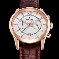 men s bellwether chronograph rose gold white vincero collective men s bellwether rose gold chronograph men s bellwether white gold chronograph watch
